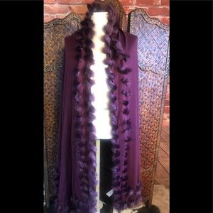 Chicos deep Merlot beautiful wrap new with tags